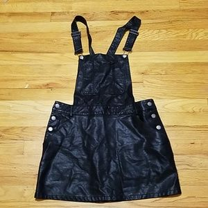 F. FOREVER 21 Faux Leather